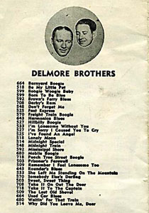Delmore Brothers King Harpers catalog