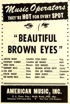 Advertisement Delmore Brothers Beautiful Brown Eyes