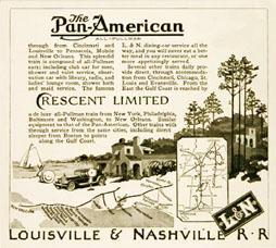 Ad Pan-American L & N