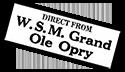 Advert WSM Grand Ole Opry
