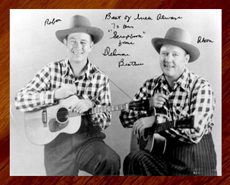 Autographes Delmore Brothers