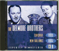 Second CD non US Delmore Brothers