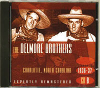 3e CD non US Delmore Brothers