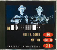 Fifth Delmore Brothers' foreign CD