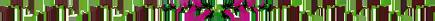 Barre de séparation avec fleurs