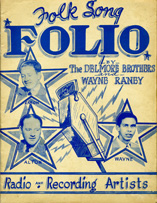 Folk Song Folio Delmore Brothers