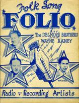 Folk Song Folio Delmore Brothers