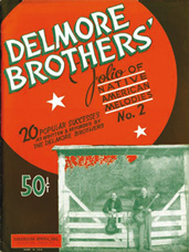 folio of Native American Melodies Delmore Brothers