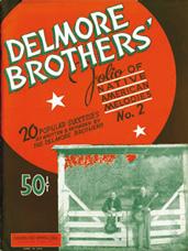 folio of Native American Melodies Delmore Brothers