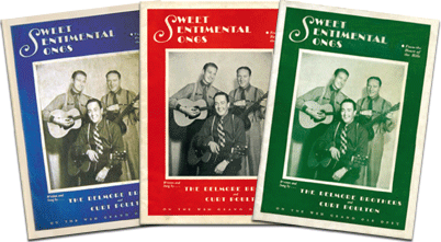 Folio Sweet Sentimentale Songs Delmore Brothers