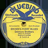 Delmore Brothers Bluebird 5403