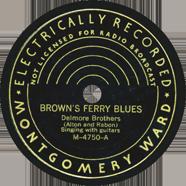 Delmore Brothers Montgomery Ward 4750