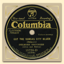 Delmore Brothers Columbia label