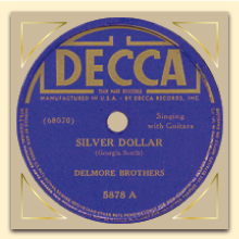 Label Decca Delmore Brothers