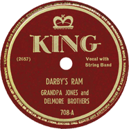 Delmore Brothers King 708
