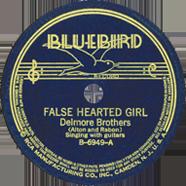 Delmore Brothers Bluebird 6949