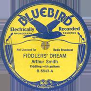Delmore Brothers Bluebird 5843