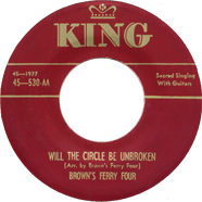 Delmore Brothers King first 45 rpm single King 530