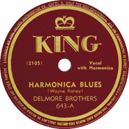 Delmore Brothers King 643
