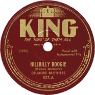Delmore Brothers King 527