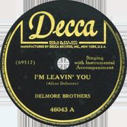 Delmore Brothers Decca 46043
