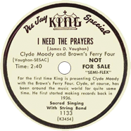 Delmore Brothers King 1133