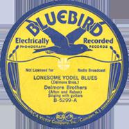 Delmore Brothers Bluebird 5299