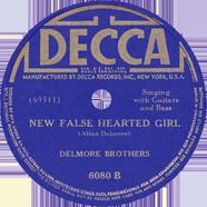 Delmore Brothers Decca 6080