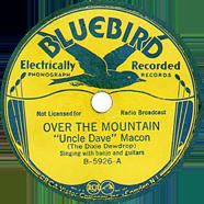 Delmore Brothers Bluebird 5926