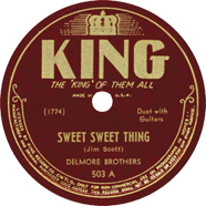 Delmore Brothers King 503
