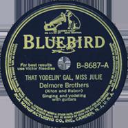 Delmore Brothers Bluebird 8687
