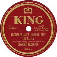 Delmore Brothers King 826