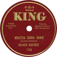 Delmore Brothers King 1158