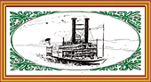 Delmore Brothers' steamboat logo