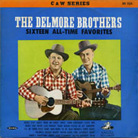 First Delmore Brothers' foreign LP