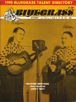 Bluegrass unlimited Delmore Brothers