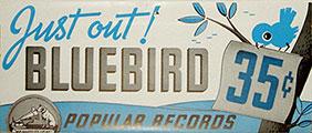 Bluebird weekly new release announcement sheet