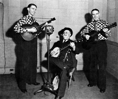 Delmore Brothers, Uncle Dave Macon