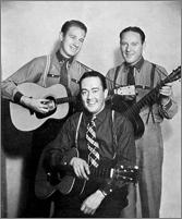 Delmore Brothers, Curt Poulton des Vagabonds