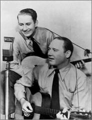 Delmore Brothers, WIBC
