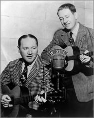 Delmore Brothers, WMC
