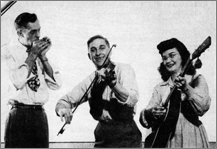 Wayne Raney, Norman & Maxine Luna