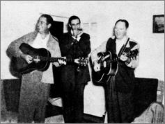 Rabon Delmore, Wayne Raney, Alton Delmore, Hank Thompson
