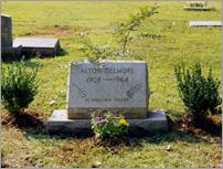 Alton's grave