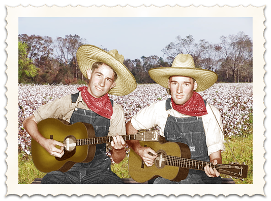 Cotton field Delmore Brothers