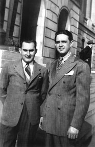 Amis des Delmore Brothers : Merle Travis et Grandpa Jones