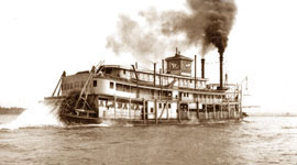 Steamboat on the Tennessee River