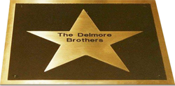 Delmore Brothers' award ground plate
