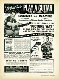 Wayne Raney, publicité Country Song Roundup