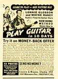 Wayne Raney's ad